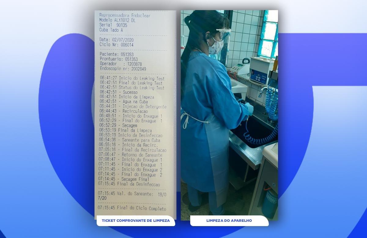 Imagem postagem Saiba como é lavado o endoscópio aqui na Gastroclínica, antes de ser usado em você, para sua segurança.